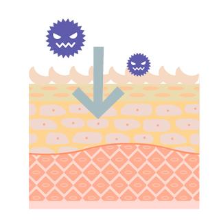 子供がアレルギーによる湿疹を起こす原因